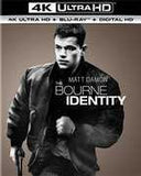 The Bourne Identity (With Blu-Ray, 4K Mastering, Ultraviolet Digital Copy, Digitally Mastered in HD, Digital Copy) 2016 12-06-16 Release Date