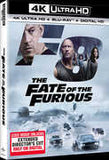 The Fate Of The Furious 8 (With Blu-Ray, 4K Mastering, Ultraviolet Digital Copy, Digitally Mastered in HD, Digital Copy) 2017 07-11-17