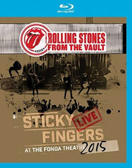 The Rolling Stones From the Vault: Sticky Fingers Live Fonda Theatre Hollywood 2015 Import (Blu-ray) DTS-HD Master Audio 09-29-17