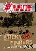 The Rolling Stones From the Vault: Sticky Fingers Live Fonda Theatre Hollywood 2015 Import DVD DTS 5.1  Audio 09-29-17