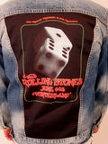 The Rolling Stones at Winterland Lucky Dice Blue Jean Jacket (Men's Medium- 2018 RARE in stock