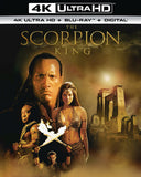 The Scorpion King: (4K Ultra HD+Blu-ray+Digital) 2 Pack) Rated: PG13 2019 Release Date 6/18/19