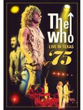 The Who: Live In Texas 1975 DVD 2012  Dolby Digital 2.0