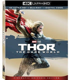 Thor: The Dark World (4K Ultra HD+Blu-ray+Digital) Collector's Edition 2 Pack Dolby Rated: PG13 2019 Release Date 8/13/19