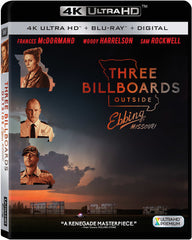 Three Billboards Outside Ebbing Missouri  (4K Ultra HD-Blu-Ray-Ultraviolet Digital Copy 2 Pack) 2018 Release Date: 2/27/18