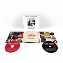 Tom Petty: The Best Of Everything-The Definitive Career Spanning Hits Collection (2 CD) 38 Hit Tracks 2019 Release Date 3/1/19