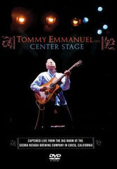 Tommy Emmanuel: Center Stage PBS Special 2007 DVD 2008 16:9 Dolby Digital 5.1
