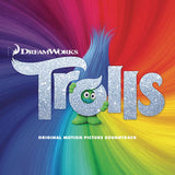 Trolls: Original Motion Picture Soundtrack 2016 Dream Works Animated Film Trolls 09-23-16