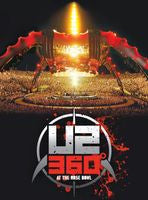 U2: 360 At The Rose Bowl 2009 DVD 2010 16:9 DTS 5.1