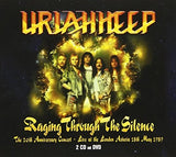 Uriah Heep: Raging Through The Silence 20th Anniversary Concert Live At The London Astoria 18th May 1989 [Japan Import] Deluxe 2 CD/DVD Edition 3PC 2017