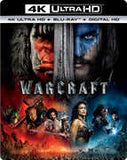Warcraft: 4K Ultra HD Blu-ray Ultraviolet Digital Copy Digitally Mastered in HD Rated PG13 2016 Release Date: 9/27/16