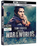 WAR OF THE  WORLDS (4K Mastering, Blu-ray, Digital Copy 2 Pack) Widescreen)  4K Ultra HD Rated: PG13 Release Date: 5/19/2020