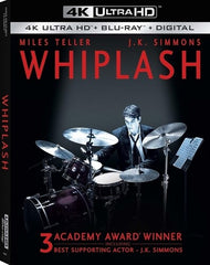 Whiplash (4K Ultra HD+Blu-Ray+Digital) Rated: R 2020 Release Date: 9/22/2020