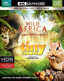 Wild Africa / Tiny Giants: 4K Ultra HD Blu-ray Digital 2PC 2017 Release Date 5/16/17