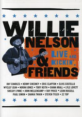 Willie Nelson & Friends: Live and Kickin' Guests Ray Charles, Lyle Lovett, Leon Russell, Steven Tyler, ZZ Top DVD 2005