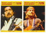 Willie Nelson & Waylon Jennings Live at the US Festival 1983 Bundle 2 Concert DVD's  2011 Release Date 11/15/11