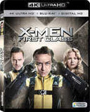 X-MEN:  First Class 4K ULTRA HD+Blu-ray+Digital  2016 10-04-16 Release Date