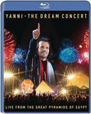Yanni: The Dream Concert Live From The Great Pyramids Of Egypt (Blu-ray) DTS-HD Master Audio 2016