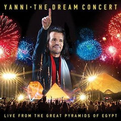 Yanni: The Dream Concert Live From The Great Pyramids Of Egypt CD/DVD DTS 5.1 Audio 2016