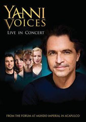 Yanni: Yanni Voices Live In Concert Acapulco Mexico 2009 DVD 2009 16:9 Dolby Digital 5.1