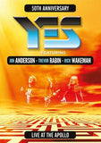 Yes 50th Anniversary Live At The Apollo Manchester 2017 (Blu-ray) DTS-HD Master Audio 2018 Release Date 9/7/18