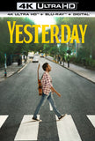 Yesterday: (4K Ultra HD+Blu-ray+Digital) Rated: PG13 2019 Release Date 9/24/19