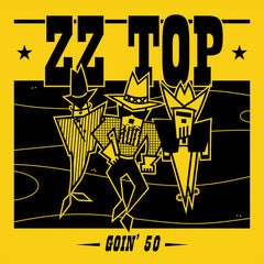 ZZ Top: Goin' 50 CD 18 Hit Tracks 2019 Release Date 6/14/19