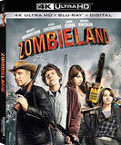 Zombieland (4K Ultra HD+ Blu-ray+Digital) Widescreen 2 Pack, Rated: R 2019 Release Date 10/1/19