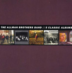 Allman Brothers Band: 5 Classic Albums CD Box Set 2013