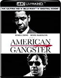 American Gangster (4K Mastering, With Blu-ray, 2 Pack) 4K Ultra HD Rated: R Release Date 10/15/19