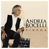 Andrea Bocelli: Cinema CD 2015 Greatest Movie Songs Includes David Foster 10-23-15 Release Date