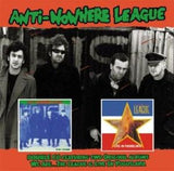 Anti-Nowhere League  2 CD Deluxe Set -We Are the League/Live in Yugoslavia 2009