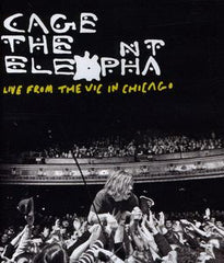 Cage The Elephant: Live From The Vic In Chicago 2011 CD/DVD Deluxe Edition 2012 DTS-5.1