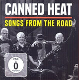 Canned Heat: Songs from the Road (CD/DVD) 2015 Release Date 8/7/15