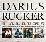 Darius Rucker: 4 Albums 4 CD/DVD Set Import 2017 Grammy Award Winning Artist Release Date 2/10/17