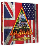 Def Leppard: London To Vegas (4CD/2Blu-ray) 2018 London 2019 Vegas Limited Edition Boxed Set, Deluxe Edition 2020 Release Date: 5/29/2020