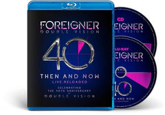 Forigner: Double Vision: Then And Now 40 Year History 2019 (CD/Blu-ray) Release Date 11/15/19 DVD Format Also available