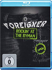 Foreigner: Rockin at The Ryman 2011 (Blu-ray) 2011 DTS-HD Master Audio Rare Out Of Print