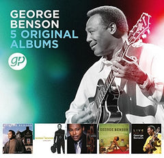 George Benson: 5 Original Albums (Boxed Set 5 CD ) 2018 Release Date 6/29/18