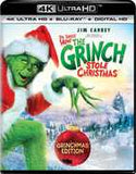 Dr. Seuss' How the Grinch Stole Christmas: ( Grinchmas Edition) 4K Ultra HD Blu-Ray Digital 2 Pack  2017 Release Date 10/17/17