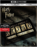 Harry Potter And The Prisoner Of Azkaban: 4k Ultra HD Blu-Ray Digital 2017 Release Date 11/7/17