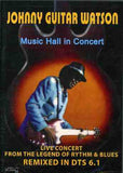 Johnny Guitar Watson: Music Hall in Concert 1993 Germany DVD DTS 5.1 Release Date 10/25/19