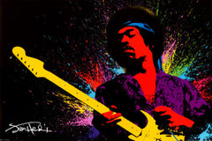 "Jimi Hendrix Poster 36"" x 24"" Includes Special Shipping"