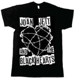 Joan Jett Barbed Wire (Medium-Xtra Small ) Band Licensed Shirt, Black