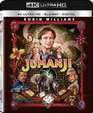 Jumanji: With Robin Williams 4K Ultra HD Blu-Ray Digital 2017 Release Date 12/5/17