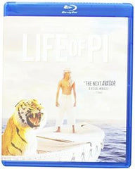 Life Of Pi:  (Blu-ray DVD & Digital Download)  DTS-HD Master Audio 2016 06-17-16 Release Date