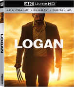 LOGAN: 4k Ultra HD  Blu-Ray Digital 2017 Release Date 8/15/17