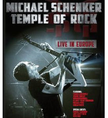 Michael Schenker: Temple of Rock: Live in Europe Tillburg, Netherlands 2012  2 DVD DTS-5.1 Audio 2013