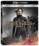 The Hunger Games Mockingjay Part 1 2014- 4K Ultra HD Blu-Ray Digital Part 1 of the 2 Part Conclusion 2PC 2016 Release Date 11/8/16
