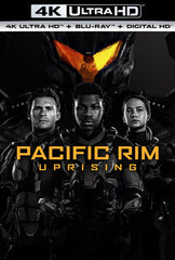 Pacific Rim Uprising: 4K Ultra HD Blu-Ray Digital 2PC 2018 Release Date 6/19/2018